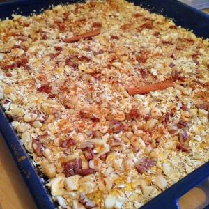 granola voorbereiding